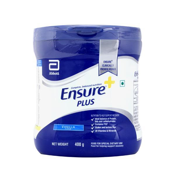 Ensure Plus Powder - Vanilla Flavour 400 gm (Pet Jar)