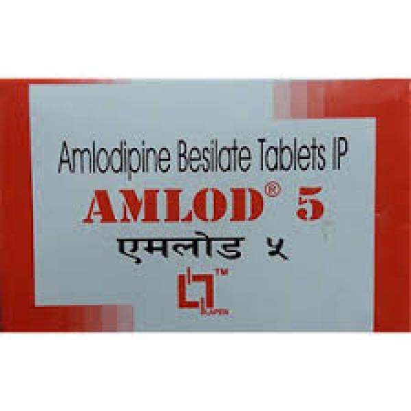 Amlod 5mg Tablet