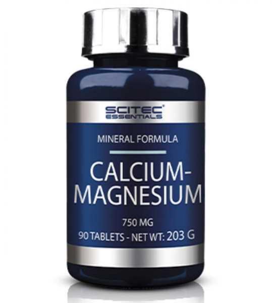 Calcium Magnesium 750 mg- 90 caps